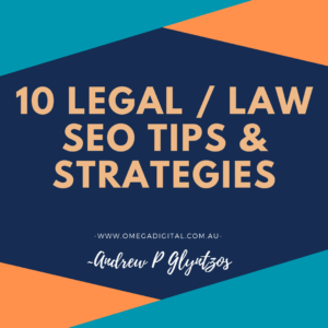 10 seo strategies for law websites