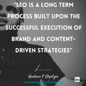 SEO Quote from Sydney SEO Agency